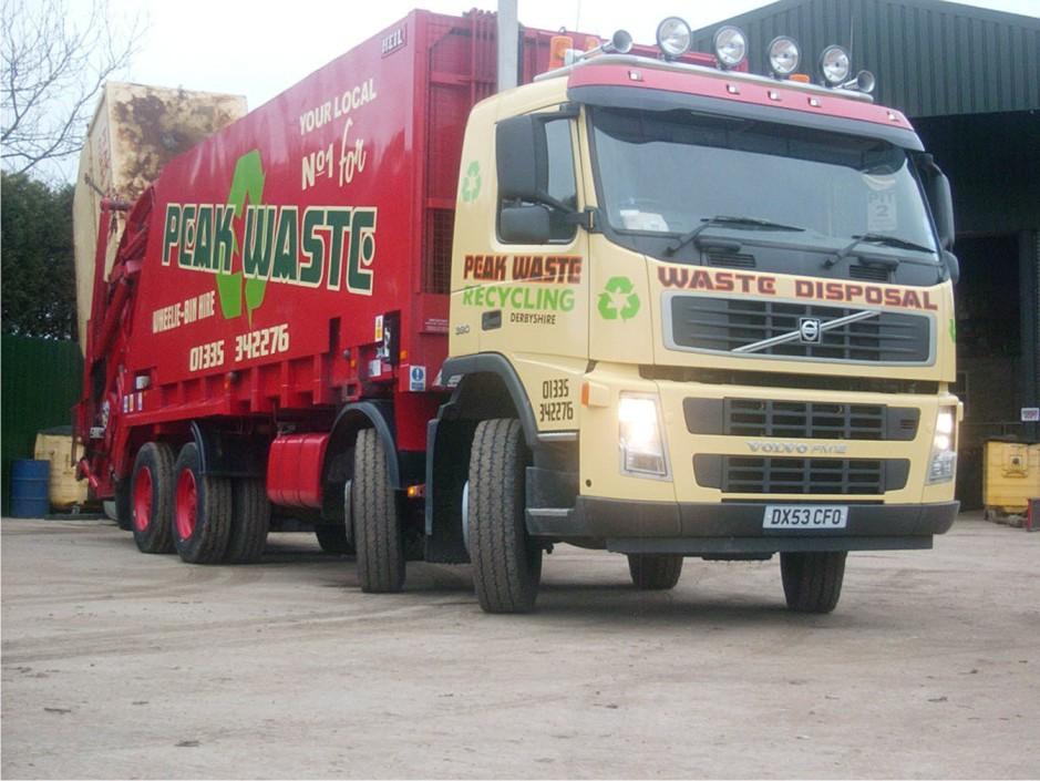 Peak Waste Truck Graphics