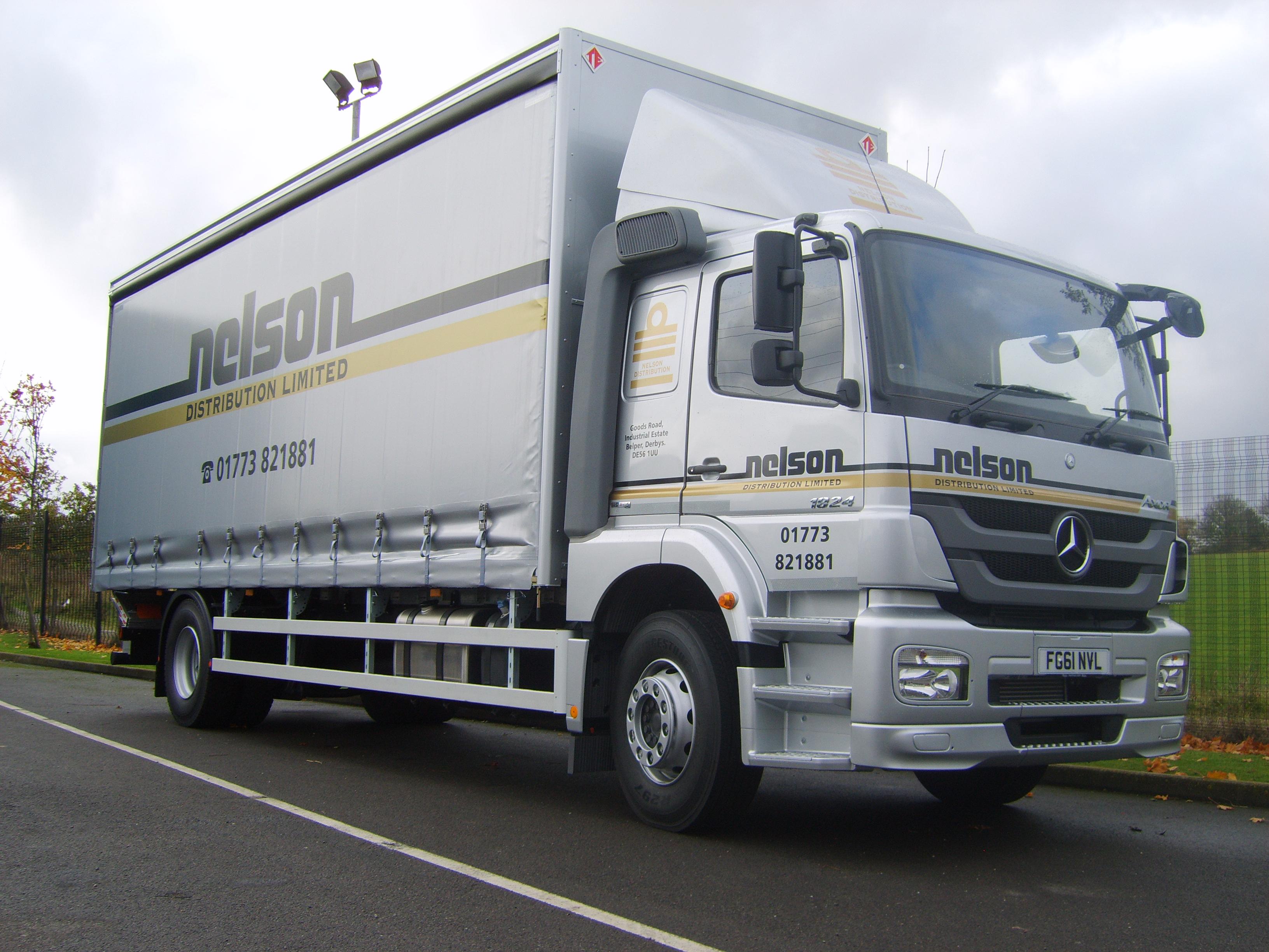 Nelson truck graphics